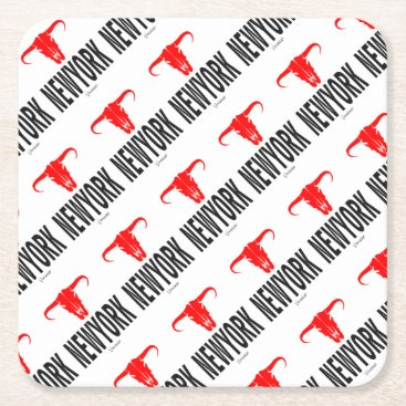 NYC New York City by VIMAGO Square Paper Coaster