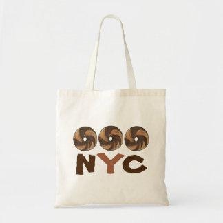 NYC New York City Food Marble Rye Bagel Bagels Bag
