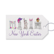 NYC New York City Happy Easter Gift Tags