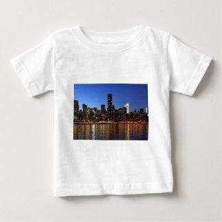 NYC New York City Manhattan Night Baby T-Shirt