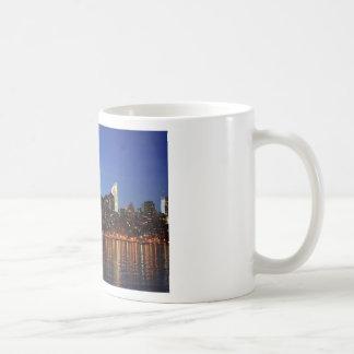 NYC New York City Manhattan Night Coffee Mug