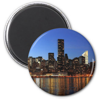NYC New York City Manhattan Night Magnet