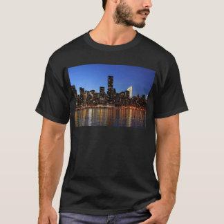 NYC New York City Manhattan Night T-Shirt
