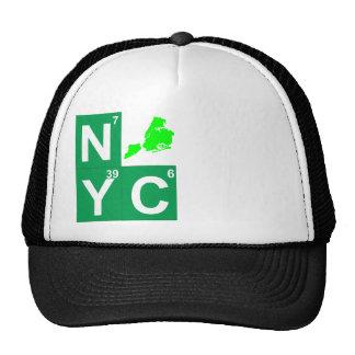 NYC New York City map Trucker Hat