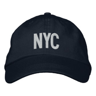 NYC New York City Personalized Adjustable Hat