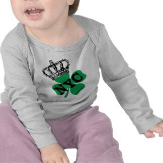 NYC New York City Shamrock St. Patricks Day T-shirt