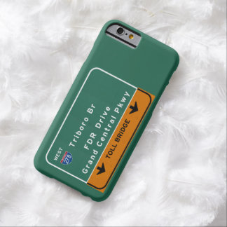 NYC New York City Triboro Br FDR Drive Interstate Barely There iPhone 6 Case