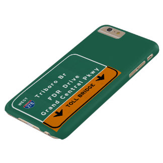 NYC New York City Triboro Br FDR Drive Interstate Barely There iPhone 6 Plus Case