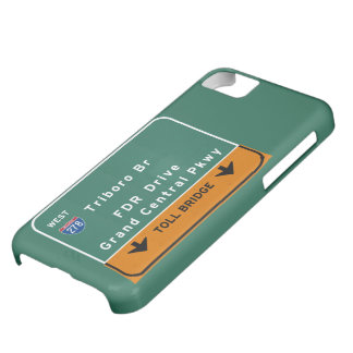 NYC New York City Triboro Br FDR Drive Interstate Case For iPhone 5C