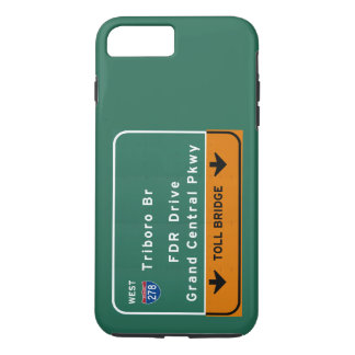 NYC New York City Triboro Br FDR Drive Interstate iPhone 7 Plus Case