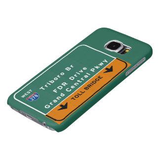 NYC New York City Triboro Br FDR Drive Interstate Samsung Galaxy S6 Case