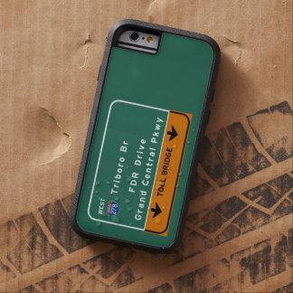 NYC New York City Triboro Br FDR Drive Interstate Tough Xtreme iPhone 6 Case