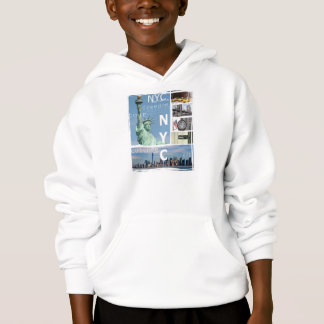 nyc new york usa america brooklyn bridge hoodie