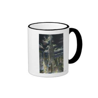 NYC New YorkChrysler Building at Night 1 Mugs
