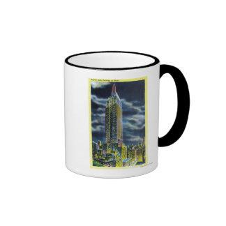 NYC New YorkEmpire State Building at Night Coffee Mug