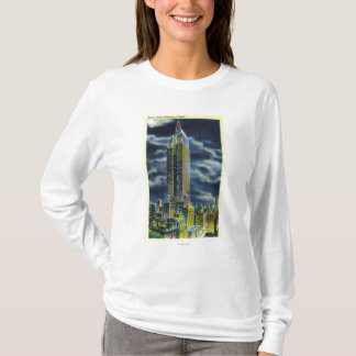 NYC, New YorkEmpire State Building at Night T-Shirt