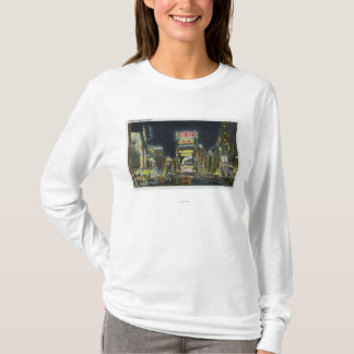 NYC, New YorkView of Times Square at Night # 2 T-Shirt