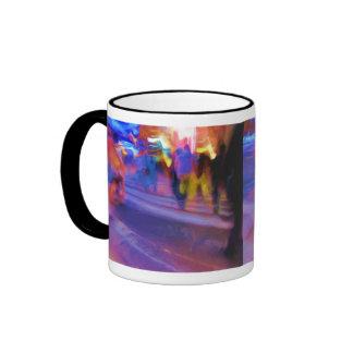 NYC Night Abstract Mug