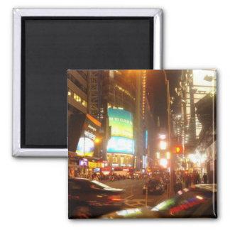 NYC Night magnet