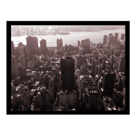 NYC Norman Thomas High School Aerial Postcard