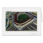 NYC, nueva opinión de YorkAerial del Yankee Stadiu Felicitacion