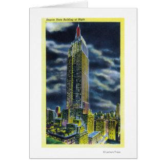 NYC, nuevo estado de YorkEmpire que construye en l Felicitacion