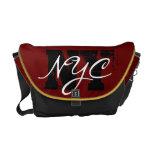 NYC NY Rickshaw Messenger Bag