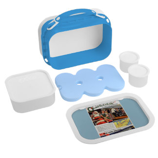NYC,Oh What Fun it Is Blue Yobo Lunchbox