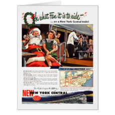NYC,Oh What Fun it Is Christmas Big Greeting Card