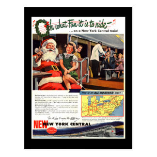 NYC,Oh What Fun it Is Postcard