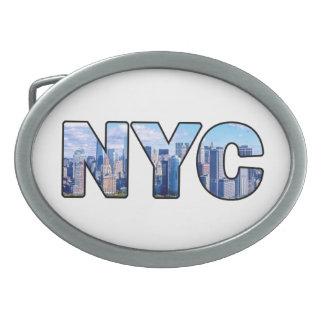 NYC OVAL BELT BUCKLE