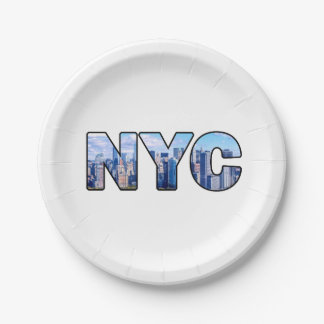 NYC PAPER PLATE