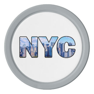 NYC POKER CHIPS