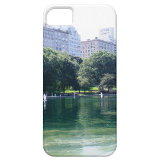 NYC Pond in Central Park Canvas Print iPhone SE/5/5s Case