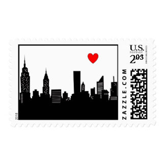 nyc postage stamp