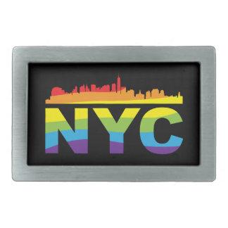NYC Pride Rainbow Belt Buckles