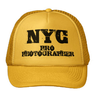 NYC PRO PHOTOGRAPHER Hat