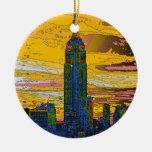 NYC psicodélico: Empire State Building B4 Adorno De Reyes