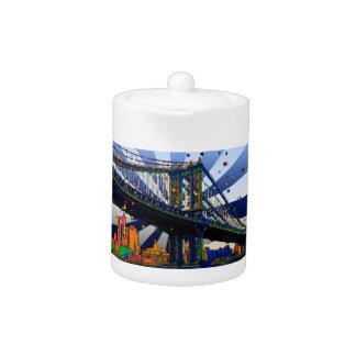 NYC psicodélico: Puente #1 de Manhattan