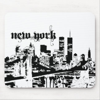 NYC put on for your city Mouse Pad