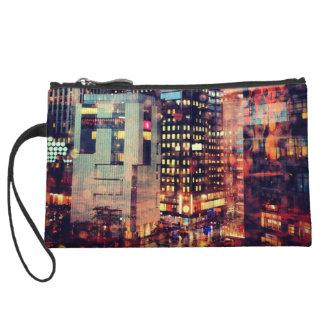 NYC Rain Wristlet Clutch