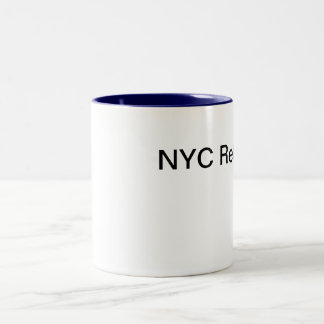 NYC Retouch Two-Tone Coffee Mug