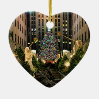 NYC Rockefeller Center Christmas Tree, Angels H Christmas Ornaments