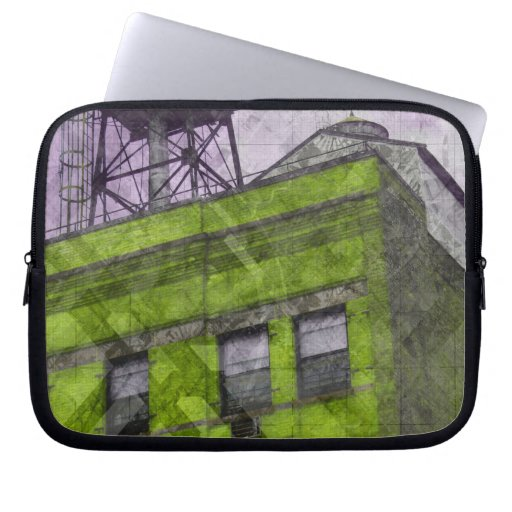Nyc roof crazy computer sleeve