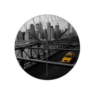 NYC ROUND CLOCK