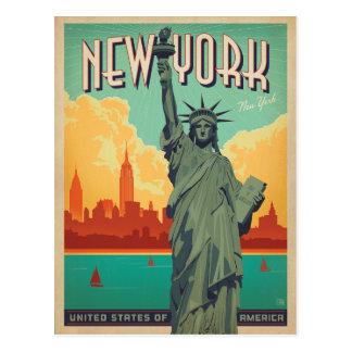 NYC - Señora Liberty Postales