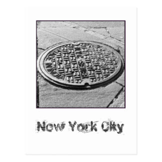 NYC Sewer System Postcard
