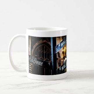 NYC signs Classic White Coffee Mug