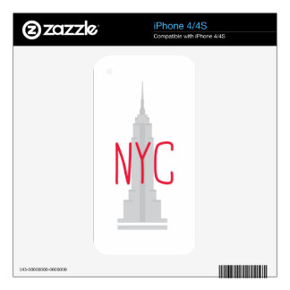 NYC SKIN FOR THE iPhone 4S