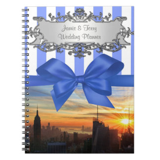 NYC Skyline at Sunset Event Planning Notebook